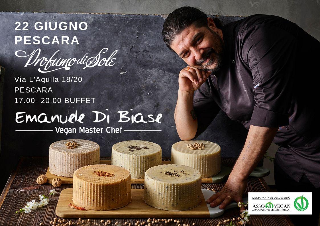Emanuele Di Biase Vegan Master Chef